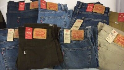 64b54ad40fd NWT Authentic Levis 502 Regular Taper Many Styles & Sizes (see item  description)
