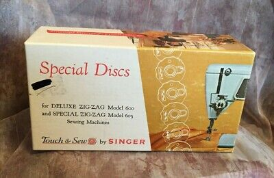 Singer Special Discs Deluxe Zig Zag 600 Special 603 Vintage Touch and Sew 21976