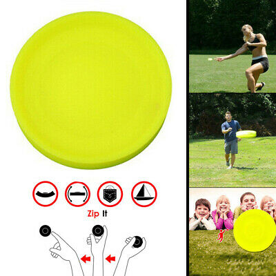 Outdoor Sports Mini Silicone Flying Disc Throwing Saucer Catching Game Toys chic