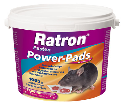 FRUNOL DELICIA® Ratron® Pasten Power-Pads 29 ppm, 1005 g