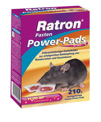 FRUNOL DELICIA® Ratron® Pasten Power-Pads 29 ppm, 210 g