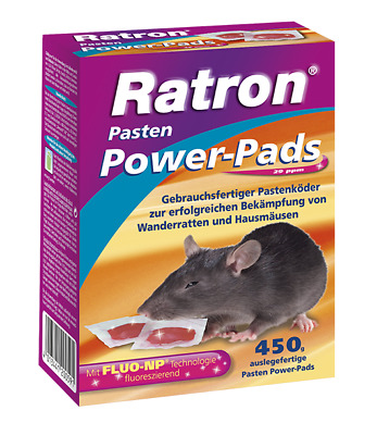 FRUNOL DELICIA® Ratron® Pasten Power-Pads 29 ppm, 450 g