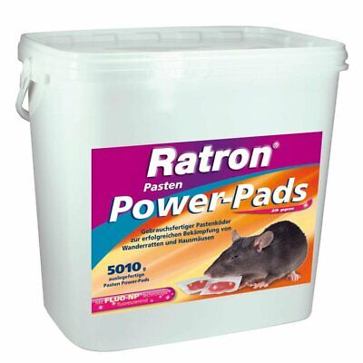 FRUNOL DELICIA® Ratron® Pasten Power-Pads 29 ppm, 5010 g