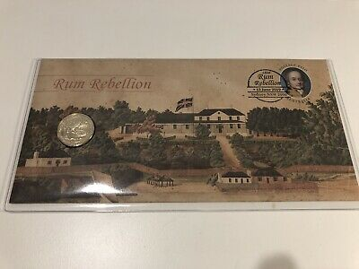 2019 'Rum Rebellion' PNC with a $1 'Mutiny on the Bounty' $1 ERROR Coin