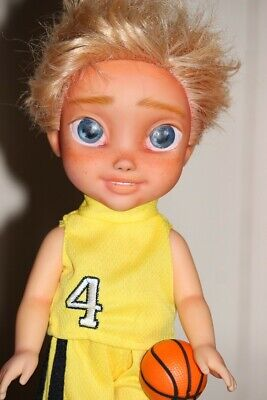OOAK Repainted Basketball Boy Doll | Kindred Spirit Doll | Pablo
