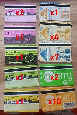 Sydney Airport Train Airport Link Concession Ticket Cityrail City Rail