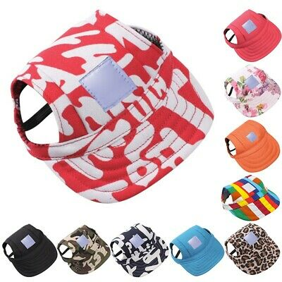 Pet Dog Hat Baseball Cap Sports Travel Sun Hats for Large Dogs Puppy Windproof