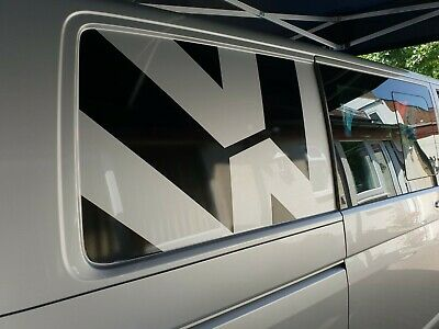 VW T5 & T6 Transporter Camper SWB rear side Panel Decals Stickers