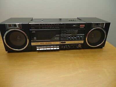 jvc pc 50  boombox ghettoblaster,  working, new belts, nice condition
