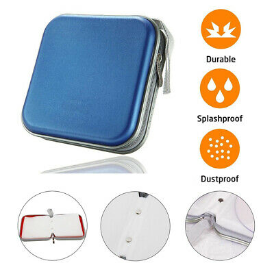 40 Disc CD DVD Organizer Holder Storage Case Bag Wallet Album Media Video V6X2H