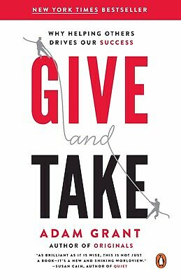 Give and Take: A Revolutionary Approach to Success (E-BOOK) / PDF 😁