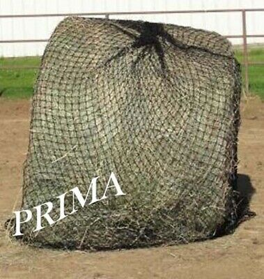 Horse Round Bale Slow Feed Net 5' x 5' Black