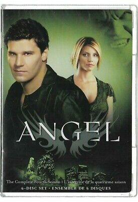 Sealed New - DVD - TV Series - ANGEL - Season 4 - Also In French