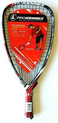 RACKET RACQUETBALL FFT 165 Black And Red 2013 Model NEW PRO KENNEX