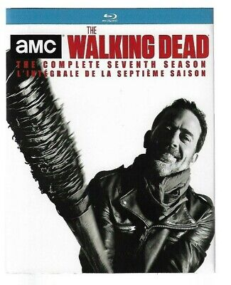 SEALED NEW - BLU-RAY DISC - THE WALKING DEAD Season 7   - Also In French