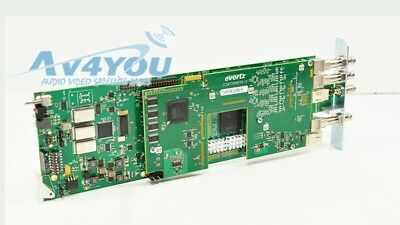 Evertz 7746FSE-HD+3RU hd/SD SDI Frame Synchronizer Sync with backplane included