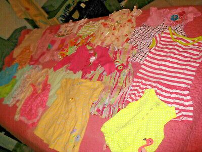 Lot Baby Girls Spring Summer Clothes Size 3-12 Months Carters