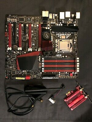 ASUS ROG Rampage 3 Extreme Motherboard w Intel i7-980x 6 Core 3.33G and 24Gb Ram