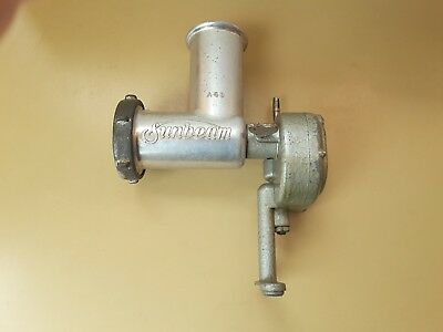 Vintage Sunbeam Mixmaster Mincer Attachment, No A6B