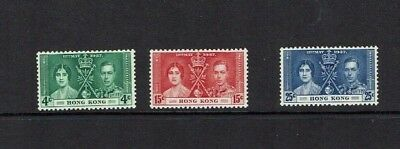 Hong Kong: 1937 King George Vi Coronation, MLH set