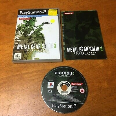 Metal Gear Solid 3 Snake Eater PS2 - Free Postage