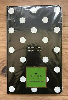 """KATE SPADE New York """"Expect The Unexpected"""" Pregnancy Journal Brand New & Sealed"""