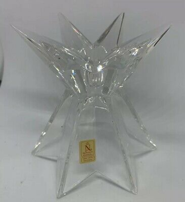 Nachtmann Bleikristall German lead crystal candle holder