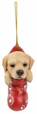 Yellow Labrador Christmas Decoration/Ornament Stocking Gift/Present Dog Lab