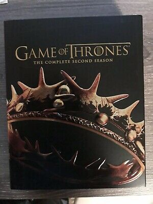 Game of Thrones The Complete Second 2nd Season (Blu-ray Disc 2014, 5-Disc Set)