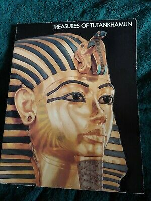 TREASURES OF TUTANKHAMUN KING TUT Lg SC 1976 Metropolitan Museum of Art catalog