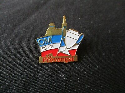 Pins Pin's Om Marseille C1 Coupe D Europe 1990-1991  Le Provencal