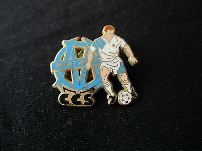 Pins Pin's Om Marseille Arthus Bertrand Ccs Club Central Des Supporters Ultras