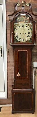 Wooden Grandfather clock. Fully restored and guaranteed