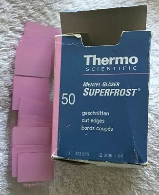 Thermo Scientific Superfrost Microscope Slides Pink 76mm X 26mm X 1mm