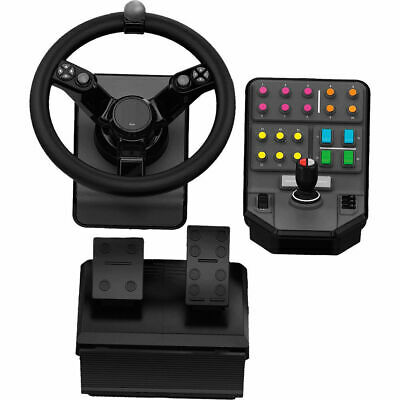 Logitech G Saitek Farm Sim Controller Heavy Equipment Bundle 945-000026