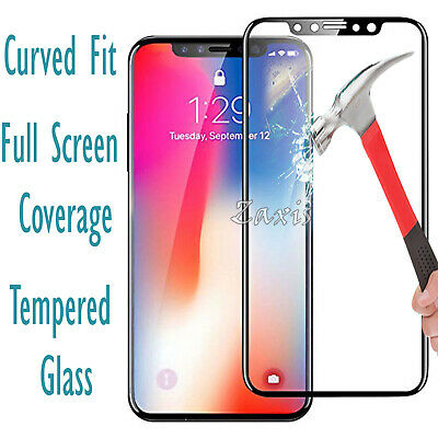 3D Full Screen Tempered Glass Protector Cover for Apple Iphones