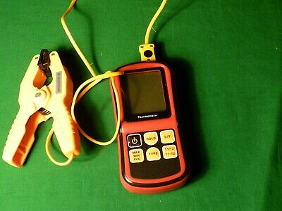Dual channel Pipe Clamp Digital Thermometer