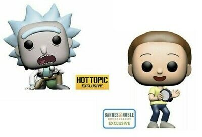 Funko Pop Rick & Morty GET SCHWIFTY RICK Hot Topic MORTY Barnes & Noble PREORDER