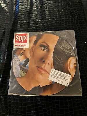 Styx Pieces Of Eight Limited Edition Picture Disk No. 007763 Vinyl Lp