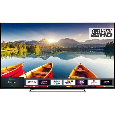 Toshiba 65U5863DB 65 Inch Smart 4K Ultra HD TV,HDR10,Dolby Vision and Freeview