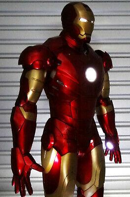 Marvel Sideshow Iron Man Mark Iii Life-Size Figure Statue Prop Replica