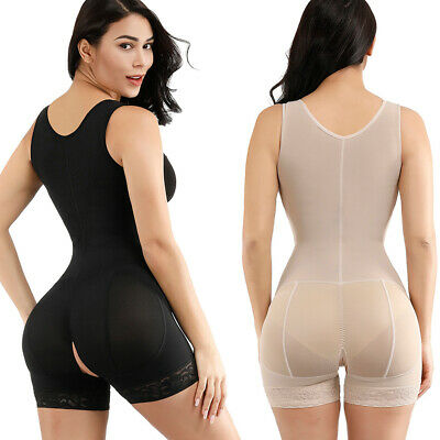 Full Body Shaper Waist Cincher Corset Seamless Shapewear Bodysuit Firm Control