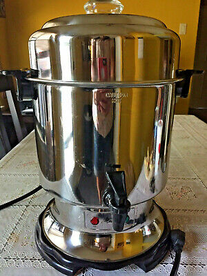 MELITTA BANQUET Coffee URN 45 CUP COFFEE MAKER PERCOLATOR