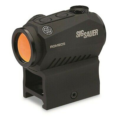 Brand New Sig Sauer SOR52001 Romeo5 1x20mm Compact 2 Moa Red Dot Sight, Black