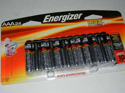 24 New Energizer Max AAA Alkaline Batteries exp. 2027 aaa24 battery E928P-24