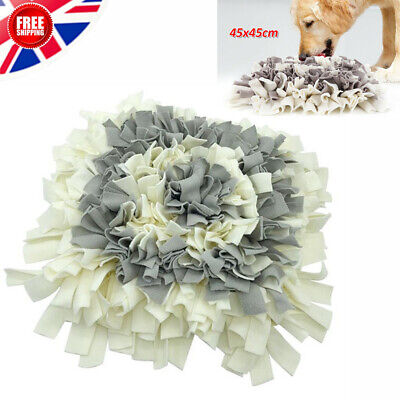 Washable Pet Snuffle Mat Dog Cat Food Mat Pressure Relieving Nosework Training