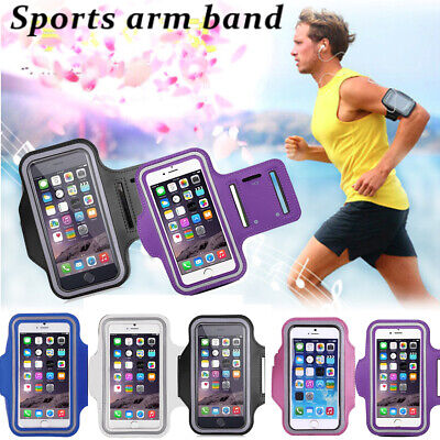 Gym Running Armband Jogging Sports Case Holder For Apple iPhone Mobile Phones UK
