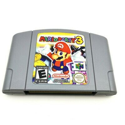 NEW AU version MARIO PARTY 3 Video Game Card For Nintendo 64 console N64 -PAL