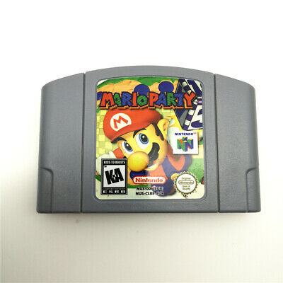 MARIO PARTY Game Card Cartridge For Nintendo 64 N64 console Video Games -NEW