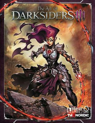 Art of Darksiders Iii by Thq Hardcover Book Free Shipping!